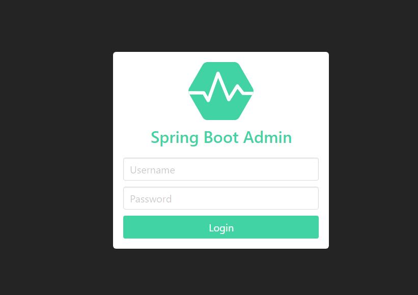 Spring Boot Admin 的使用
